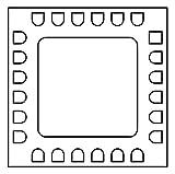 RF Mixer Double-Balanced (HMC557ALC4TR)