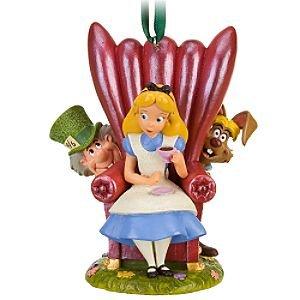 Click for larger image of Disney Alice in Wonderland Ornament