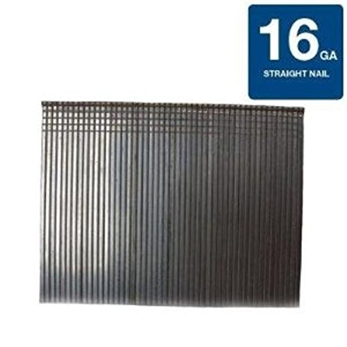 Grip-Rite 1-3/4 in. x 16-Gauge Electro galvanized Steel Finish Nails (2,000-Pack)