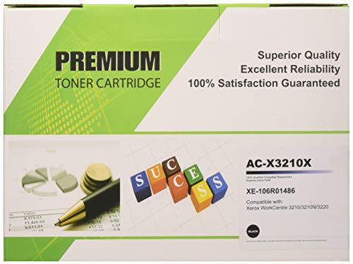 - Cool Toner 1 Pack Compatible Xerox Phaser 106R01486 Black Toner Cartridges Used for Xerox WorkCentre 3210 3210N 3220