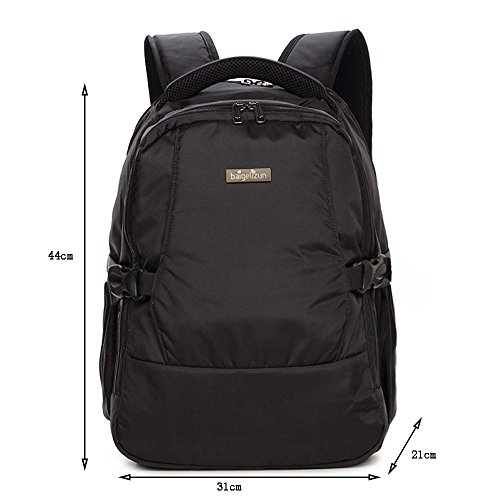 Global- Negro, Nylon multifunción mamá bolsa Madre paquete de gran capacidad Las mujeres embarazadas azules Saliendo mochila ( Color : Negro ) Negro