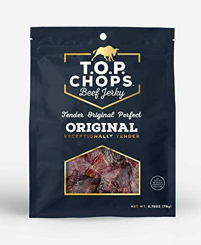 T.O.P. Chops Original Soft and Tender Gourmet Beef Jerky (5 pack)