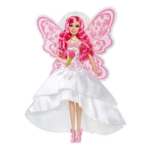 Barbie A Fairy Secret Bride Doll By Mattel