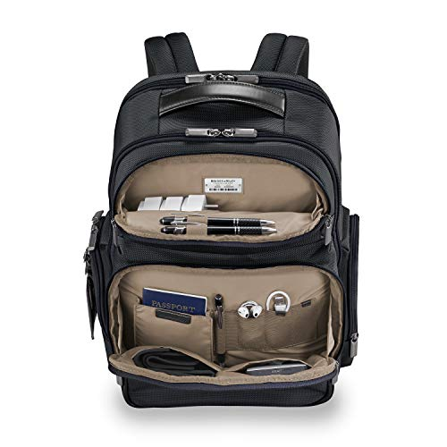 Briggs & Riley @ Work-Cargo Backpack, Black, Large