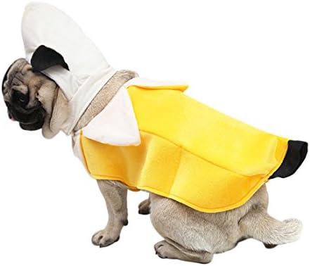 Zhaoke Set de Ropa para Mascota - Disfraz de Plátano de Perro Gato ...