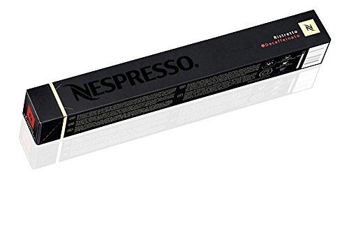 Nespresso OriginalLine: Ristretto Decaffeinato, 10 Count -