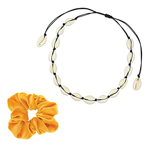 2 Friendship Bracelets and Water Bottle Paracord Handle for Women Girls VSCO Girl Starter Stuff 5 Velvet Scrunchies,50 VSCO Stickers