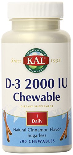 vitamin d 2000 chewable - 3