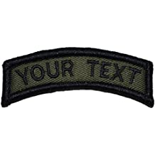 Custom Text Tab Patch W/ Hook Fastener– Morale Patch