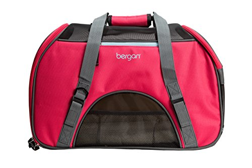 Bergan Comfort Carrier for Pets, Berry, Large 19