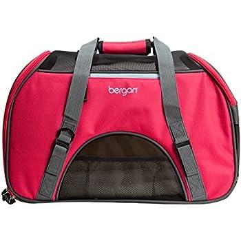 Amazon Com Bergan Comfort Carrier For Pets Berry Large