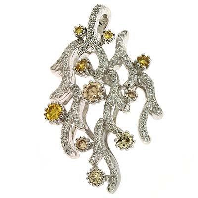 Trendy 0,89 carat blanc 14 carats-Diamant JewelryWeb