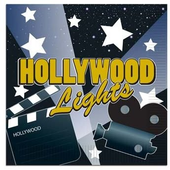 Hollywood Lights Beverage - Hollywood Lights Beverage Napkins