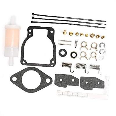 Unepart 18-7750-1 Carburetor Kit For Sierra Mercury Mariner Outboard Motor Replaces 1395-8236354: Automotive