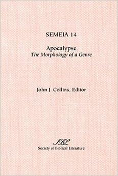 Semeia 14: Apocalypse: Themorphology of a Genre