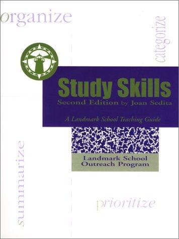 Study Skills: A Landmark School Teaching Guide (Second Edition)