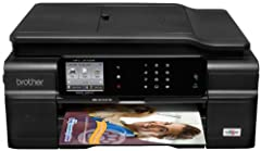 """You never thought using an inkjet all-in-one could be this easy! It's simple to connect the MFC-J870DW using wireless setup assistant or to your wired Ethernet network. Conveniently print from or scan to your compatible mobile device1 and """"to..."""