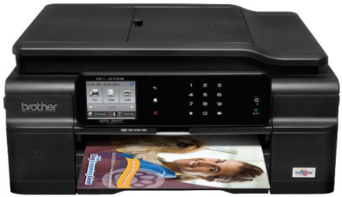 Brother MFC-J870DW Wireless Color Inkjet Printer with Scanner, Copier and Fax (Discontinued by Manufacturer) by Brother