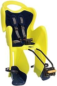 BELLELLI Mr Fox Standard - Rear Bike Child Seat - Italian Made with Certified Safety Standards