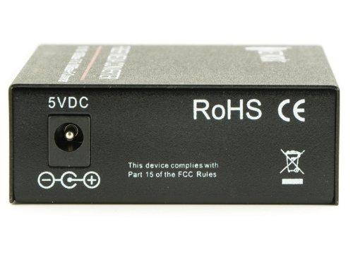 Gigabit Ethernet Fiber Media Converter - UTP to 1000Base-SX - ST Multimode, 550m, 850nm by Networx (Image #2)