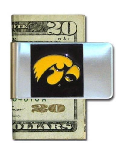 Iowa Hawkeyes Steel Money Clip ()