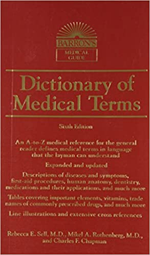 Dictionary Of Medical Terms Barrons Dictionary Of Medical Terms