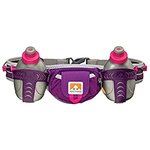 Nathan Trail Mix Hydration Belt, Imperial Purple