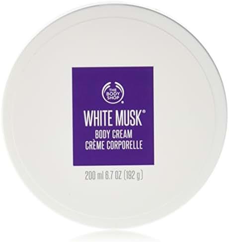The Body Shop White Musk Body Cream, 6.7 Fluid Ounce