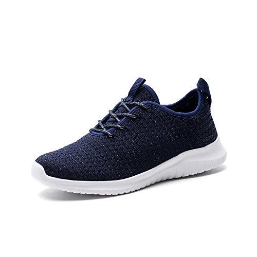 de Mujer Casuales Zapatillas Boca Punto Sneakers Mujer tamaño Verano 36 Low Ladies Singles de Zapatos Top Shoes otoño de Zapatos Primavera Deportivos Baja Azul Color de Deporte twpPxZEq