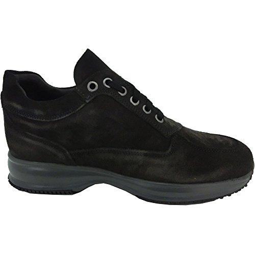 Exton , Herren Sneaker blau Profondità 44 Dunkelbraun