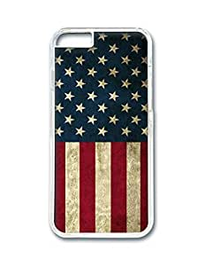 Fantastic Faye PC Material High Quality Hot Selling Stylish America Flag The Statue Of Liberty Flying Eagle Cell Phone Cases Design For iPhone 6 Color Transparent Hard Back Cases No.14