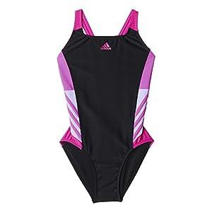 adidas Damen Badeanzug INF Inspiration Suit, Schwarz/Pink, 46, AB6984