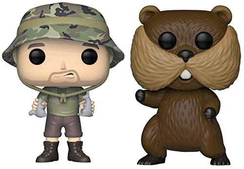 Funko Pop! Movies: Caddyshack - Carl and Gopher Figures Set of 2 - in Bubble Pouches]()