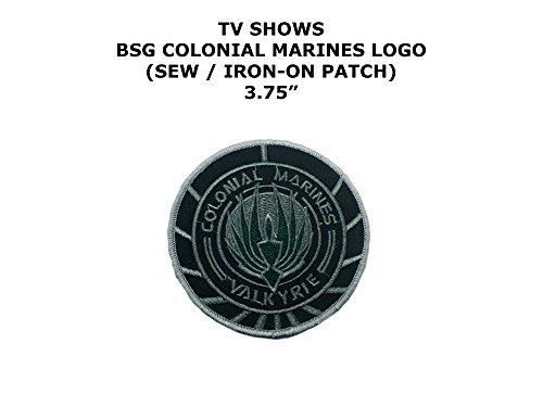 Colonial Assassin Costume (Colonial Marines Battlestar Galactica TV Show DIY Embroidered Sew or Iron-on Applique Patch Outlander Gear)