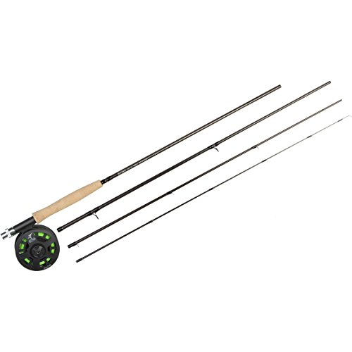 NEW Echo Solo Fly Fishing Outfit rod, reel, line 6 wt 9 ft 4 pc