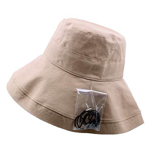 (Summer Fisherman Hat Big Visors Breathable Cotton and Linen Folding Cloth Hat Sun Hats UV Protection)