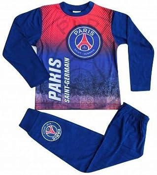 Paris St Germain Kids PSG Crest Pijama con a Todo Color Impresión ...