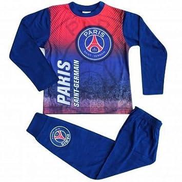 Paris St Germain Pyjama pour enfant avec blason du PSG et imprim eacute   color eacute , fe8f27f04e5