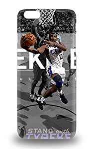 Iphone 6 Plus Case Cover Slim Fit Tpu Protector Shock Absorbent Case NBA Sacramento Kings Tyreke Evans #13