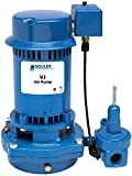 Goulds VJ10 Vertical Deep Water Well Jet Pump, 1 HP, Single Phase, 115/230 V