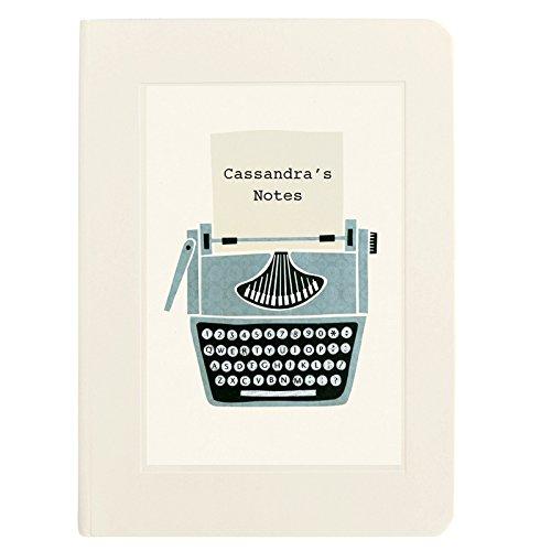 Personalised Typewriter Notebook