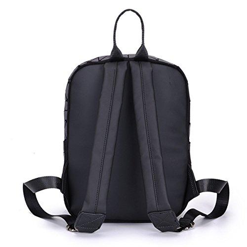 Bag Geometric Shoulder Women Luminous Mens Backpack Travel Lingge B Rucksack qqrU0PwR