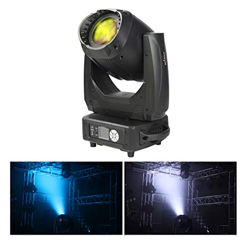 V-Show Moving Head light Led Zoom 200W Wash Light RGBW LED Beam Stage Light, CTO/CTB/CMY with DMX512 for Disco KTV Nightclub Concert Party Light