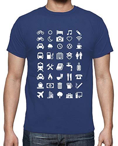 Les Homme Tee Tostadora Emoticônes Bleu Qualité Pour Royal Supérieure Shirt Voyageurs ZSFqPwIq