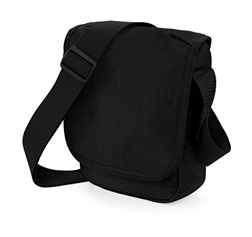 Bagbase - Bolso bandolera mini (2 ltiros) Negro