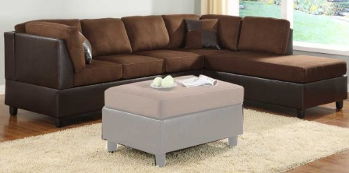 Comfort Living Reversible 3-Seater By Homelegance