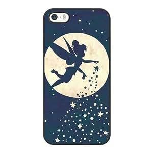 Peter Pan 2 M5R7MT3M Caso funda iPhone 5 5s Caso funda del teléfono celular Negro