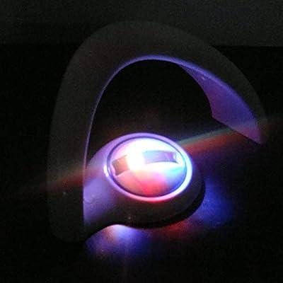 LED Lámpara Colorida del Arco Iris Luz Curvada romántica de la ...