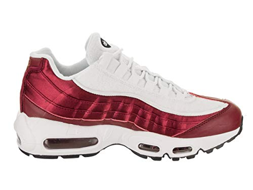 Red EU 95 Scarpe Crush Crush Basse Nike LX Ginnastica Air White Donna 40 Wmns Red da Black 001 Max FwnS7f