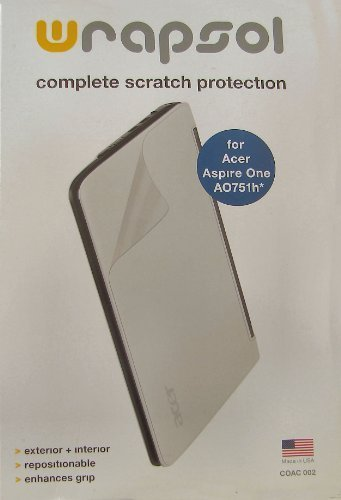 Complete Scratch Protection for Acer Aspire One D150 Wrapsol Complete Protection